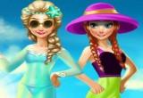 العاب تلبيس السا وانا على شاطىء البحر