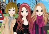 العاب تلبيس بنات في باريس