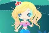 العاب تلبيس فتاة البحر الصغيرة