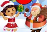 العاب دورا الجديدة مع بابا نويل