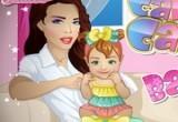 لعبة رعاية الام بطفلها