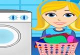 العاب تنظيف وكوي الملابس