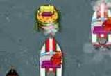 لعبة سباق سبونج في قارب البرجر