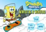 لعبة تزلج سبونج على الجليد