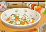العاب طبخ الكباب والمشويات مع سارة