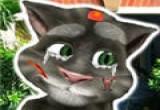 لعبة علاج القط توم المتكلم عند الطبيب