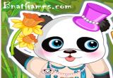 لعبة تلبيس دب الباندا الجديدة