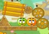 العاب مغامرات برتقالة وتفاحة
