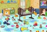 لعبة تنظيف غرفة الاطفال الصغار العاب ديدي