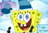لعبة سبونج بوب علي الثلج