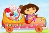 لعبة دورا سيارة نقل الحلويات