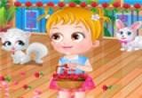 لعبة الطفلة بيبي هازل فى عيد الحب