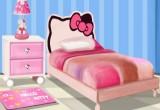 العاب ترتيب غرفة نوم القطة كيتي