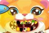 العاب تنظيف اسنان القطة الاليفة