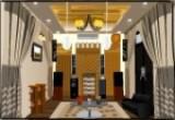 لعبة ترتيب الغرفة البنية اللون