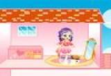 لعبة تزيين منزل روزا الصغيرة