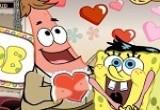 لعبة سبونج بوب مسابقة الحب