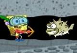 لعبة حفر سبونج بوب للتخلص من وحوش البحر المخيفة