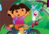 لعبة دراجة دورا وموزو الجديدة