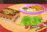 لعبة طبخ وجبة الافطار