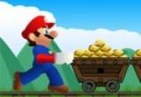 لعبة ماريو و جمع الذهب