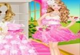 لعبة تلبيس فستان زفاف باربي في يوم فرحها