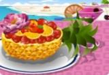 لعبة طبخ سلطة الفواكه الحقيقية