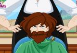 لعبة صالون المدينة للرجال حلاقة شعر ولحية