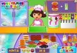 لعبة طبخ دورا ومطبخ لوس انجلوس