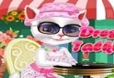 لعبة تلبيس ازياء القطة انجيلا المتكلمة