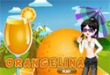 لعبة باربي البرتقالة الجميلة