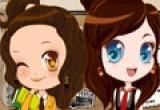 لعبة تلبيس زي البنات المدرسي