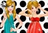 لعبة حفلة تلبيس و مكياج بنات جميلات