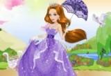 العاب تلبيس أميرة الحديقة