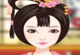 لعبة تلبيس الفتاة اليابانية