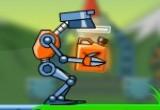 مغامرة الرجل الالي الروبوت المضحك