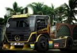 لعبة سباق تاون الشاحنات الساحلية