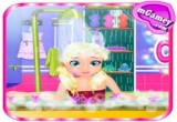 Baby Lisa Cars and Bath