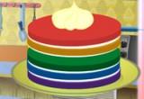 لعبة كعكة قوس قزح