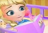 لعبة تزيين سرير طفلة السا