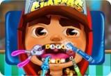 لعبة علاج اسنان صب واي