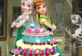 لعبة حفلة عيد ميلاد آنا