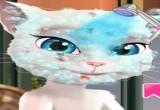 لعبة تغيير شكل القطة انجيلا