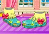 لعبة تصميم احذية الفاشن للبنات