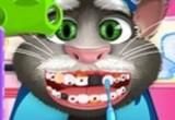 لعبة ديكور اسنان القط المتكلم توم