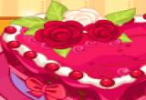 لعبة تحضير كعكة القلب اللذيذة