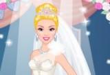 لعبة تصميم ملابس زفاف باربي