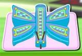 لعبة اعداد و تزيين كيكة الفراشة