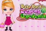 العاب باربي تتعلم زراعة الحدائق