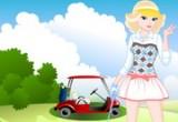 لعبة باربي في رياضة الغولف